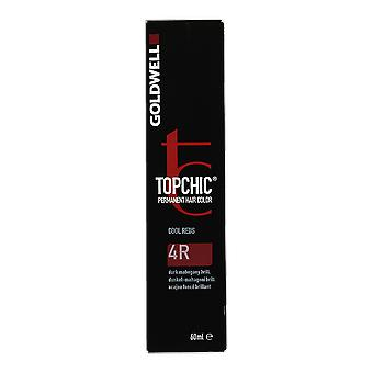 Goldwell Topchic Cool rot 4R permanente Haarfarbe 60ml