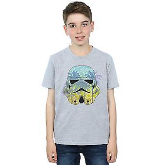 Star Wars Boys Stormtrooper Command Hawaii T-Shirt