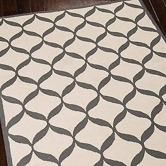 Rugs - Decor DER06 - White & Light Grey