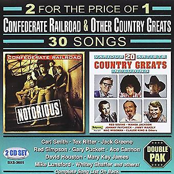Ferrocarril Confederado - 30 canciones [CD] USA importar