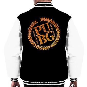 Player Unknown Battlegrounds Battle Royale Mix Men's Varsity Jacket