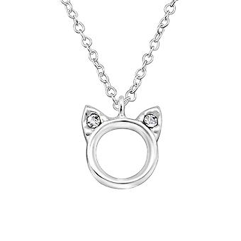 Cat - 925 Sterling Silver Necklaces