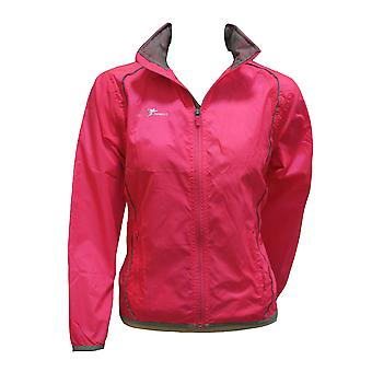 PRECISION ladies running rain jacket [pink]