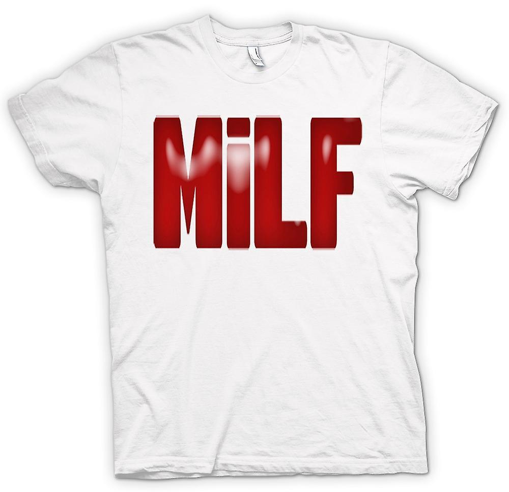 Kvinner t-skjorte-MILF - Funny - Yummy Mummy