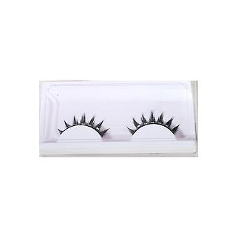 Make up and eyelashes  Eyelashes black with stars