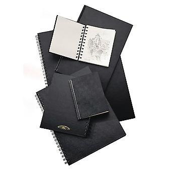 Winsor & Newton Hardback Sketch Book Spiral 110gsm A3