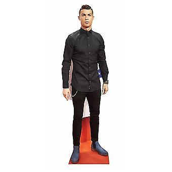 Christaino Ronaldo livet størrelse papp åpning