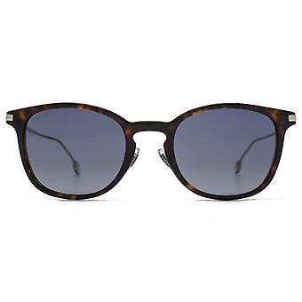 Gucci Small Keyhole Sunglasses In Havana Light Gold