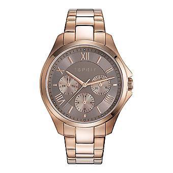 ESPRIT ladies watch bracelet watch Agathe stainless steel Rosé ES108442003