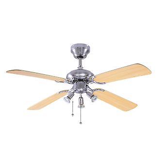 Bali di ventilatore a soffitto con illuminazione 107 cm/42