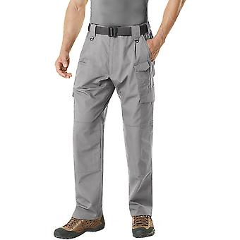 CQR TLP-105 Lightweight Ripstop EDC Tactical Assault Cargo Pants - Stone
