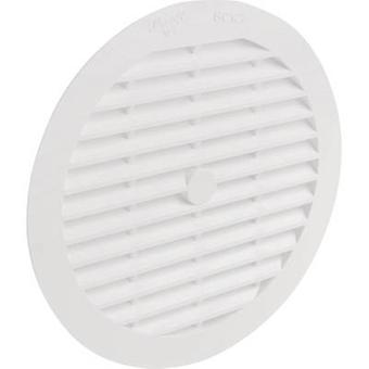 Vent grille Plastic Suitable for pipe diameter: 12.5 cm Wallair