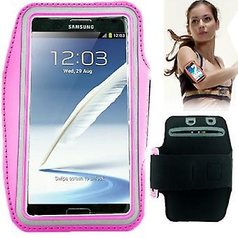 De riem van de tas voor Samsung Galaxy touch 3 N9000 roze