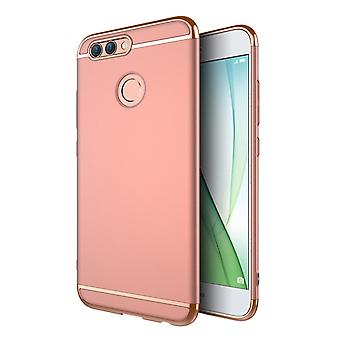 Cell phone cover case for Huawei Nova 2 bumper 3 in 1 cover chrome rose gold