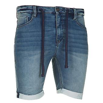 Sublevel Jogg men's denim shorts blue