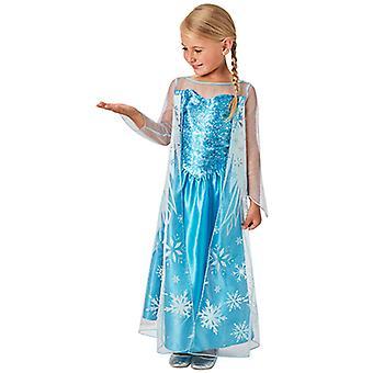 Elsa Frozen Classic Kleid Kostüm für Kinder