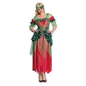 Blätterfee Waldfairy Feenkleid Fairydress Kostüm für Damen