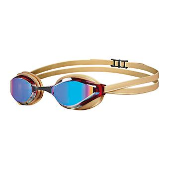Arena Python Swimming Google - Mirrored Lens -Copper/Gold