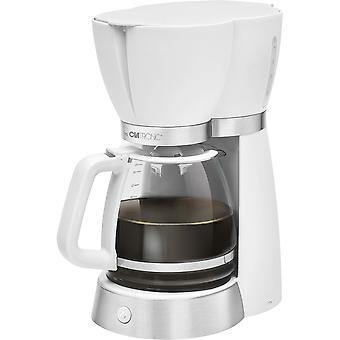 Ekspres do kawy Clatronic 15 szklanki białego 3689 KA