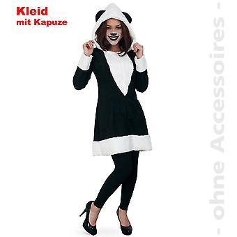 Panda bear Womens costume ladies Panda bear China Panda dress costume with hood