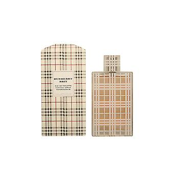 Burberry Brit For Her Eau De Toilette Vapo 100ml Womens New Perfume Sealed Boxed