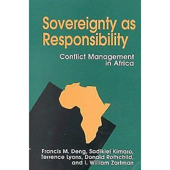 Suveränitet som ansvar - konflikthantering i Afrika av Franc