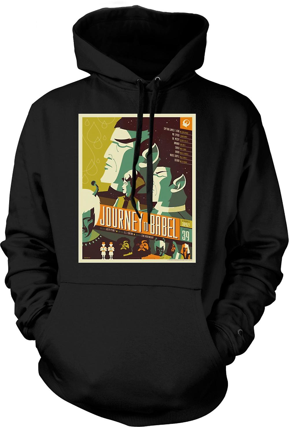 Mens Hoodie - Journey To Babel - Classic Star Trek