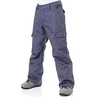 QUIKSILVER Dress Blues Snowboard Pantaloni Denim di Porter