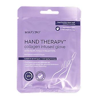 Beauty Pro Hand Therapy Collagen Infused Glove Removable Tips 23g