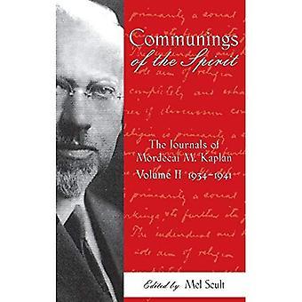 Communings av anden: journaler av Mordecai M. Kaplan, volym 2:1934 - 1941