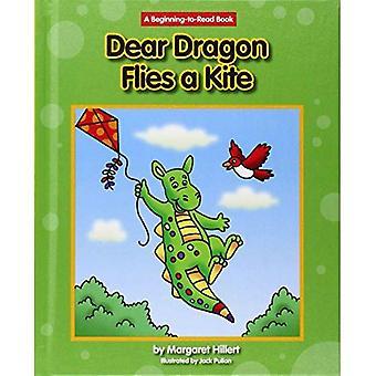 Cher Dragon vole un cerf-volant