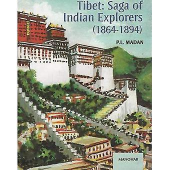 Tibet: La Saga des explorateurs indiennes 1864-1894