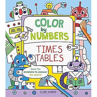 Couleur de nombres: Times Tables
