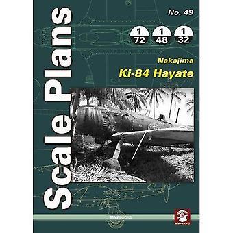 Scale Plans No. 49: Nakajima Ki-84 Hayate: 2018� (Scale Plans)