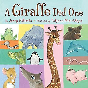 Une girafe a fait un [cartonné]