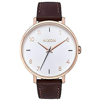 Nixon Analog quartz ladies with stainless steel strap A1091-2369-00