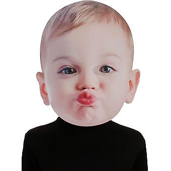 Fronte di baciare bambino