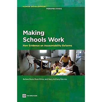 Provas de WorkNew escolas de decisões sobre reformas de responsabilização por Bruns & Barbara