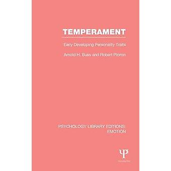 Temperament PLE Emotion tidigt utveckla personlighetsdrag av Buss & Arnold H.