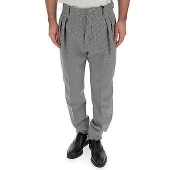 DSquared2 hvid/sort uld bukser