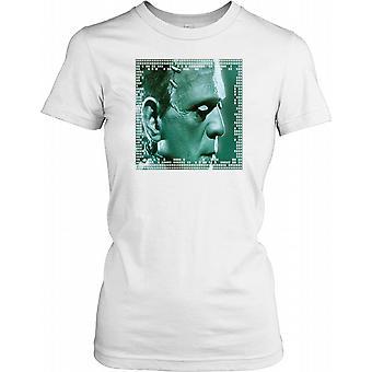 Frankenstein Monstre Ladies T-shirt