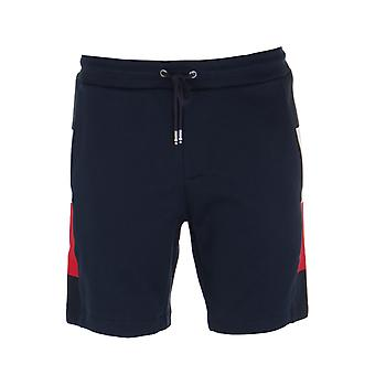 Tommy Hilfiger Flag Rib Insert Navy Sweat Shorts