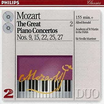 Brendel/Marriner/ASMF-Mozart: grandi concerti per pianoforte, vol. 2 [CD] USA import