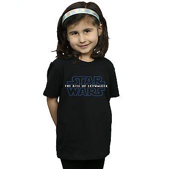 Star Wars Girls The Rise Of Skywalker Logo T-Shirt