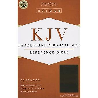Large Print Personal Size Reference Bible-KJV (large type edition) by