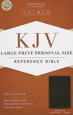 grand Print Personal Taille Reference Bible-KJV (grand type edition) by
