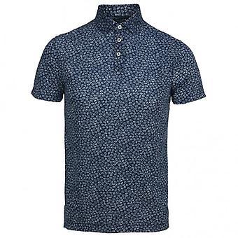 Hackett Floral Print Short Sleeve Shirt