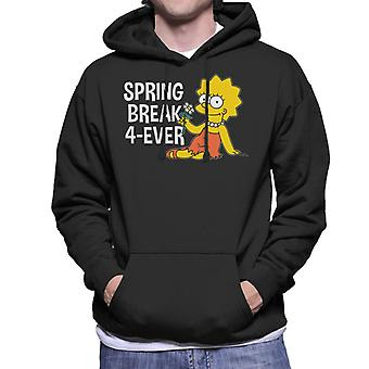 The Simpsons Spring Break 4ever Lisa Men's Hooded Sweatshirt