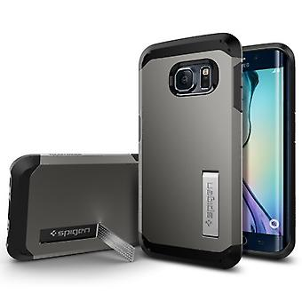 Spigen Samsung Galaxy S6 Edge Case Tough Armor Series Gunmetal
