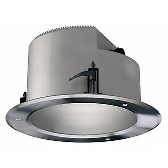 2 Light Double Round Outdoor Recessed Ceiling Light Edelstahl Aisi 304 Ip66